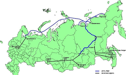 Территорию Якутии можно